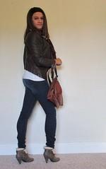 IMG_3212 (kamara881) Tags: crossdresser crossdressing tranvestite trans transgender transisbeautiful transwoman tranny genderqueer genderfluid girlslikeus tgirl androgynous maletofemale mtf femboy kamara lovefashion newlook leatherjacket skinyjeans kneehighboots fashionblogger hrt m2f