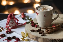 hot chocolate (Frau Holle2011) Tags: hot heis schokolade chocolat getrnk drink food foodphotography xmas christmas weihnachten warm lecker ss sweet
