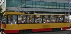 Konstal 105Na #1325 (Ikarus948) Tags: tramwaje warszawskie konstal 105na 1325