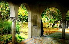 Countless Blessings (floralgal) Tags: caramoorestate katonahnewyorklandscape caramoorcenterfortheartsandmusic portico italianrenaissance mediterranean greekcorinthiancolumns porch veranda