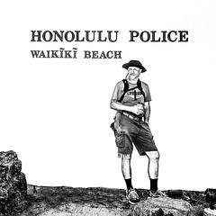 Nice Wall (Oliver Leveritt) Tags: nikond610 afsnikkor1635mmf4gedvr oliverleverittphotography wideangle hawaii oahu waikiki waikikibeach blackandwhite monochrome portrait