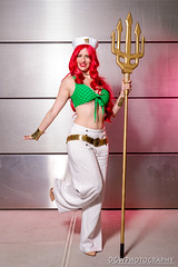 Bombshell Queen Mera (dgwphotography) Tags: cosplay nycc nycc2016 newyorkcomiccon nikond600 nikoncls sb700 sb600 dccomics dc queenmera bombshellqueenmera