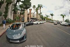 Supercar Sunday! (dj murdok photos) Tags: supercar woodlandhills mclaren porsche 675lt 997 991 911 gt2 gt3 sony alpha a7ii 16mmfisheye