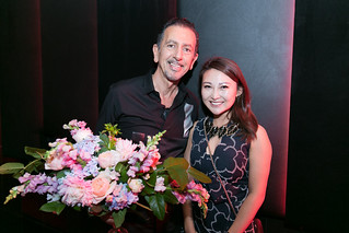 Charles Khabouth (Ink Entertainment) and Sabrina Hao (Quartat Lifestyle Consulting)
