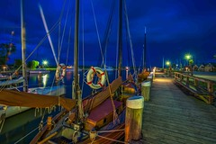 a ship called WUSTROW (Klaus Mokosch) Tags: wustrow balticsea ostsee blauestunde bluehour night nacht hafen port habour longexposure langzeitbelichtung klaus mokosch hdr