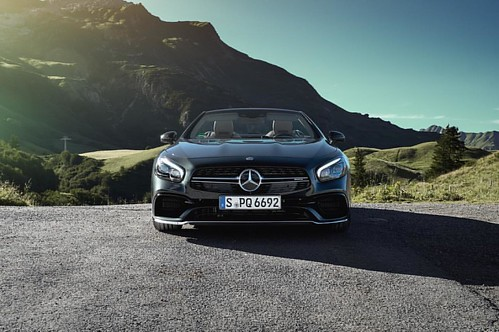 Mercedes-AMG SL63 at Mercedes-Benz Lech Summer Experience __ @mercedesamg @mercedesbenz @mercedesbenz_de #sl63 #amg #cabriolet #convertible #mountains #alps #austria #nature #carswithoutlimits #snabshod #sonyalpha #a7ii #instacar #instacars #instagood #ca