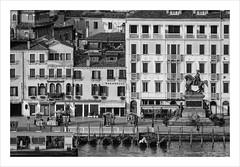 _IGP6587-Modifier (anthonymahieu   photos) Tags: italy italie venice venise lagoon city ville street cityscape bw blackandwhitenoir et blanc monochrome