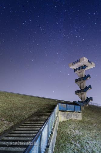 Philipsdam by night
