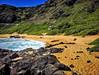 Makapu'u Beach (jcc55883) Tags: makapuu makapuubeach makapuupoint waimanalo hawaii oahu kalanianaolehighway shore beach sky pali cliffs ocean pacificocean ipad ipadair