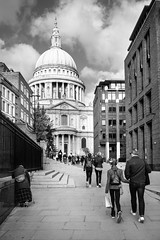 Photo of St. Paul's Cathedral, London. October, 2016.