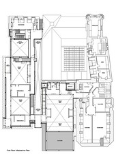 First Floor Mezzanine Plan