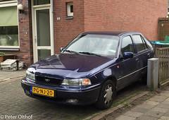 1996 Daewoo Nexia 1.5I GTX 5D (peterolthof) Tags: assen peterolthof daewoo nexia pgnj20
