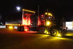 Nelson (jr-transport) Tags: nelson minnesota kenworth w900 custom w900l deck curtainside lights chickenlights
