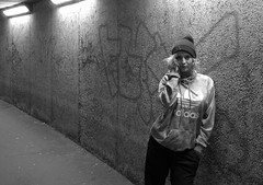 Underground (Tony Worrall) Tags: preston north northwest lancs lancashire england northern uk update place location visit area county attraction open stream tour country welovethenorth unitedkingdom claire night evening late shoot street urban sexy woman female candid lone outside done pose test studio underpass subway lit lights sundue adele