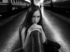 Olga Svyryda (Khun_K) Tags: hasselblad hasselbladx1d hasselbladx1d50c xcd4535 xcd45 xcd4035 train bangkok portrait portraiture blackwhite blackwhiteportrait