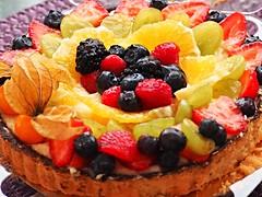 Yummy Fruit Flan - (Explore #497, Nov. 24, 2016) . (ikan1711) Tags: cake flan fruit fruitflan yummyfruitflan allcakes celebrationcakes freshfruit yummydeserts desert alldeserts specialcakes specialdeserts displays