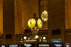 The Clock, Grand Central Terminal (peripathetic) Tags: 2016 5d 5dmk3 5dmkiii america canoneos5dmk3 nyc newyorkcity us usa unitedstates canon clock grandcentral grandcentralstation grandcentralterminal informationdesk mainconcourse manhattan manhattanisland newyork