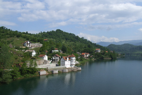 Coast of Lake Jablanica, 27.05.2012.
