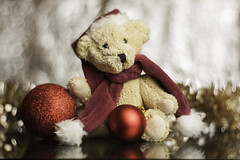 lens test on panasonic (salas-3) Tags: bear teddybear teddy christmas test panasonic bokeh fujian 35mm ball beautiful shot testshot