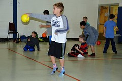 TRC 113016 038 (Tolland Recreation) Tags: boys girls kids children youth tweens sports dodgeball recreation fitness exercise game contest competition balls throwing tolland connecticut