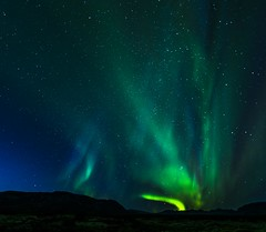 A starry night with first frost of august in Thingvellir (martin palmqvist (ALBUMS)) Tags: iceland northernlights stars thingvellir starry sky nordic frost night august 2016 last good year dream for more hope join riding planet through space creative commons