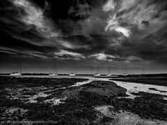 Sailing Ships (Richard Walker Photography) Tags: bw beach blackandwhite boats clouds coast coastal coastline em1 landscape landscapephotography nature omd seascape seaside sea shore shoreline sky unitedkingdom yachts