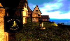 Lordsport, taverna (CrossroadsGdR) Tags: 3d porto secondlife rpg taverna gdr villaggio pyke