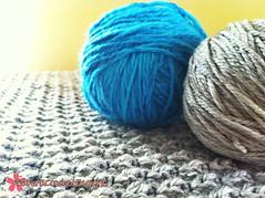 Custom baby blanket (sakura dreaming) Tags: baby wool crochet yarn blanket babyblanket