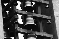 Bells in the sky (Lalo_Grrr) Tags: white black love bells mexico photography photo foto imagen