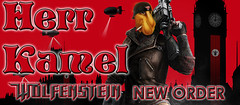 Wolfenstein   NEW ORDER (kamel herr) Tags: new germany dvd 3d order o herr et enemy kamel dominion allies wolfenstein barne fsk18 herrkamel ab123