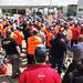 4 juli 2013, Distributiewerkers in actie bij Jumbo