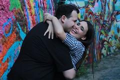 Ensaio Nathlia e Ronaldo (alnero) Tags: street love set canon ensaio eos rebel couple amor sopaulo felicidade happiness rua 1855mm casal grafite t3i becodobatman