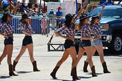 Dancing Cowgirls (Bracus Triticum) Tags: summer people canada calgary dancing july alberta cowgirls calgarystampede 7月 七月 カナダ カルガリー 2013 文月 bookmonth fumizuki アルバータ州 shichigatsu 平成25年