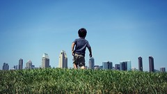 Surveying His Kingdom (Conor F. Shine) Tags: public skyline cool cityscape sandiego perspective uncool cool2 cool3 cool6 cool7 uncool2 uncool4 uncool5 uncool6 iceboxcool cool4foreb cool5jt cool8forpaynts1 cool9formap