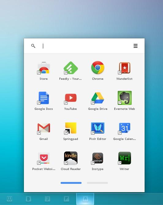 Chrome App Launcher personalizado