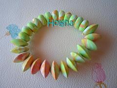 Pulsera multicolor (Ol, Olga) Tags: beads clay bracelet pulsera polymer arcilla
