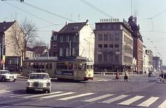 Once upon a time - Germany - Krefeld (railasia) Tags: germany krefeld infra sixties northrhinewestphalia düwag metergauge krevag routenº3