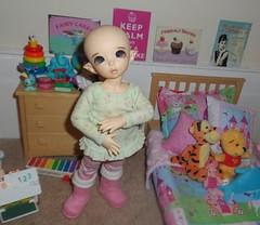 Ante bedroom (Princess Stitch) Tags: kawaii bjd fairyland ante littlefee
