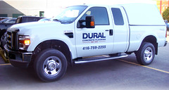 Vehicle Graphics | Signarama Meadowvale, ON | Dural Concrete Flooring