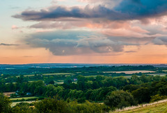 Morning Rain (DUM4S5) Tags: morning deleteme5 deleteme8 white deleteme deleteme2 deleteme3 deleteme4 deleteme6 deleteme9 deleteme7 rain clouds landscape deleteme10 hill hampshire basingstoke kingsclere