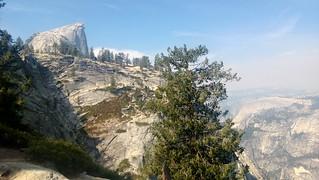 HIking up to Half Dome, Yosemite