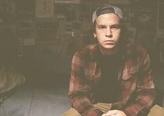 night // owl (T. Sherman Photography) Tags: boy ohio selfportrait self hipster vans insomnia dayton truckerhat selfie poppunk