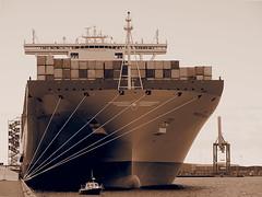 Copenhagen 2013 (hunbille) Tags: copenhagen ship container shipping majestic kaj langelinie maersk mrsk langeliniekaj pregamewinner worldslargestship