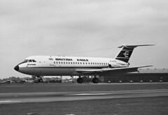 "BAC One-Eleven srs 301 G-ATPL, British Eagle, Farnborough, UK, 07 Sep 1966 (goring1941) Tags: airplane aircraft farnborough airliner bac jetliner beia eglf eagle"" ""british gatpl ""oneeleven"""