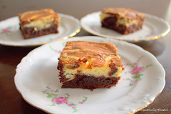 Cheesecake Brownies (domesticallyblissful) Tags: tooth dessert sweet chocolate cheesecake creamcheese brownies