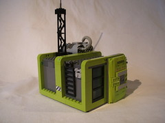 Power Miner's forward operating base (Hen Peril) Tags: power lego base miners moc