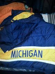 WTL nylon Michigan bubble coat,  from 1998 (Clothes Mountain) Tags: uk winter michigan coat down jacket bubble hood 1998 nylon 1990s padded englang flickrandroidapp:filter=none vision:sky=0813 vision:outdoor=065