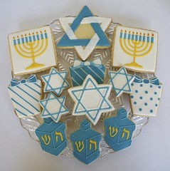 Happy Hanukkah Cookies