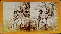 Two Poor Boys from Savannah, Georgia (1870s).  Photo by J. N. Wilson. (lhboudreau) Tags: history boys georgia children stereogram 3d africanamericans historical stereoview savannah stereograph youngsters 1870s savannahgeorgia poorboys stereographs stereograms blackchildren stereocard stereoimage 3dphoto stereoviews stereocards 3dphotos southernplantation africanamericanchildren jnwilson plantationlife negrochildren historyin3d negroboys jnwilsonphotographer twopoorboys