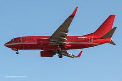 D-AGEY - 2000 build Boeing B737-7L9, on approach to Runway 24L at Palma (egcc) Tags: boeing mallorca palma germania majorca b737 pmi 682 28013 lepa b737ng b73g b7377l9 oymrh dagey